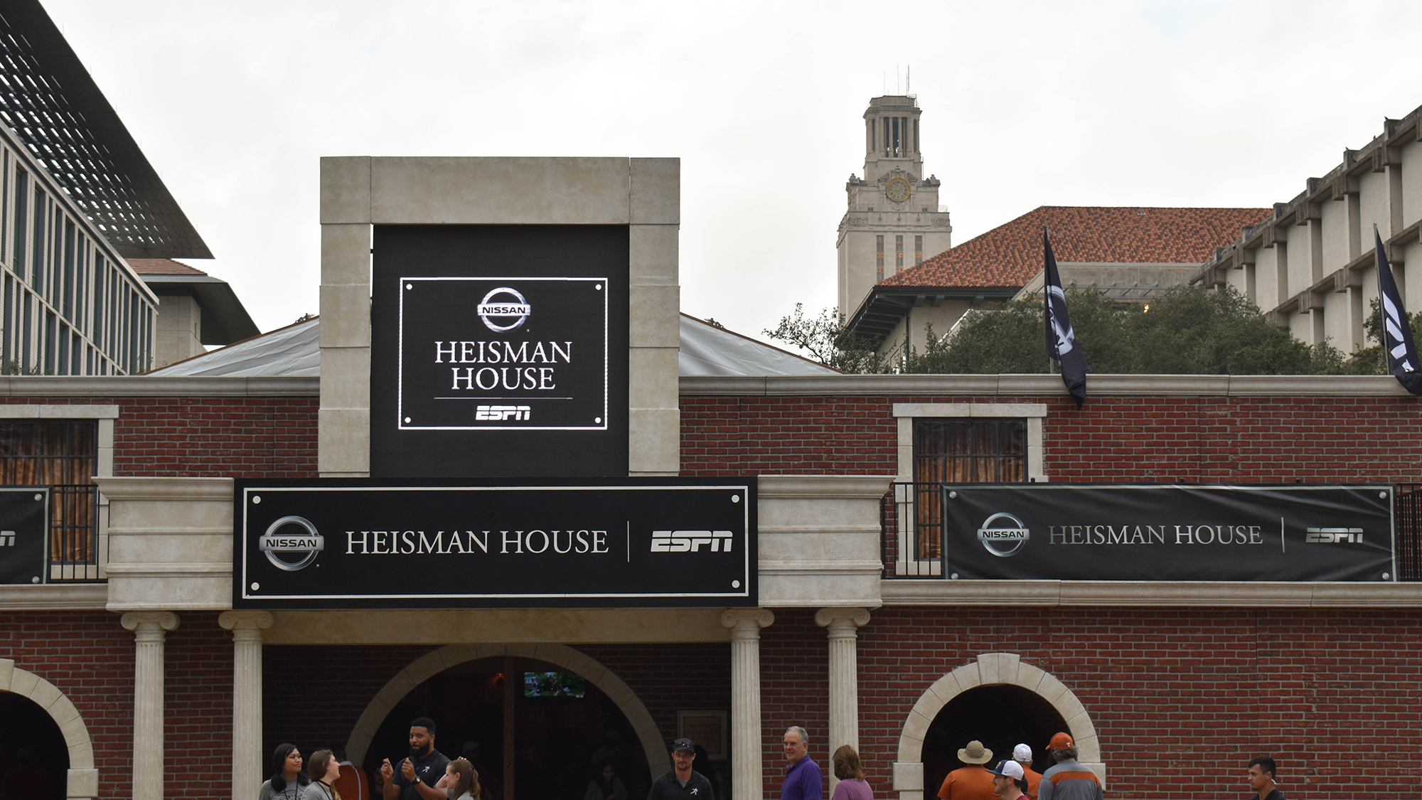 Inside the Heisman House with Ricky Williams University of Texas