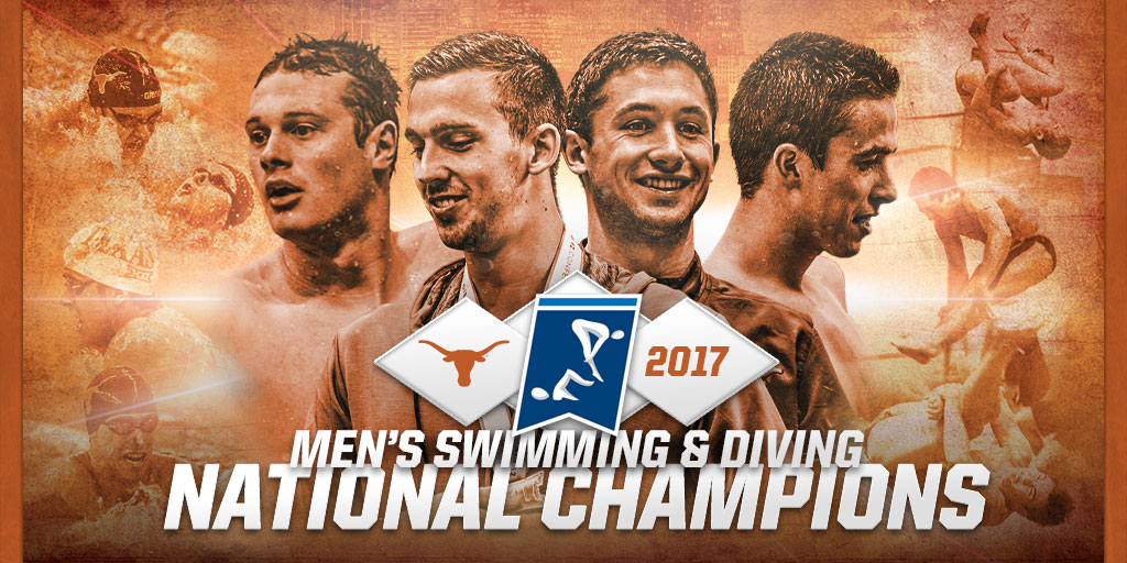 Men's Swimming and Diving wins 13th NCAA team title